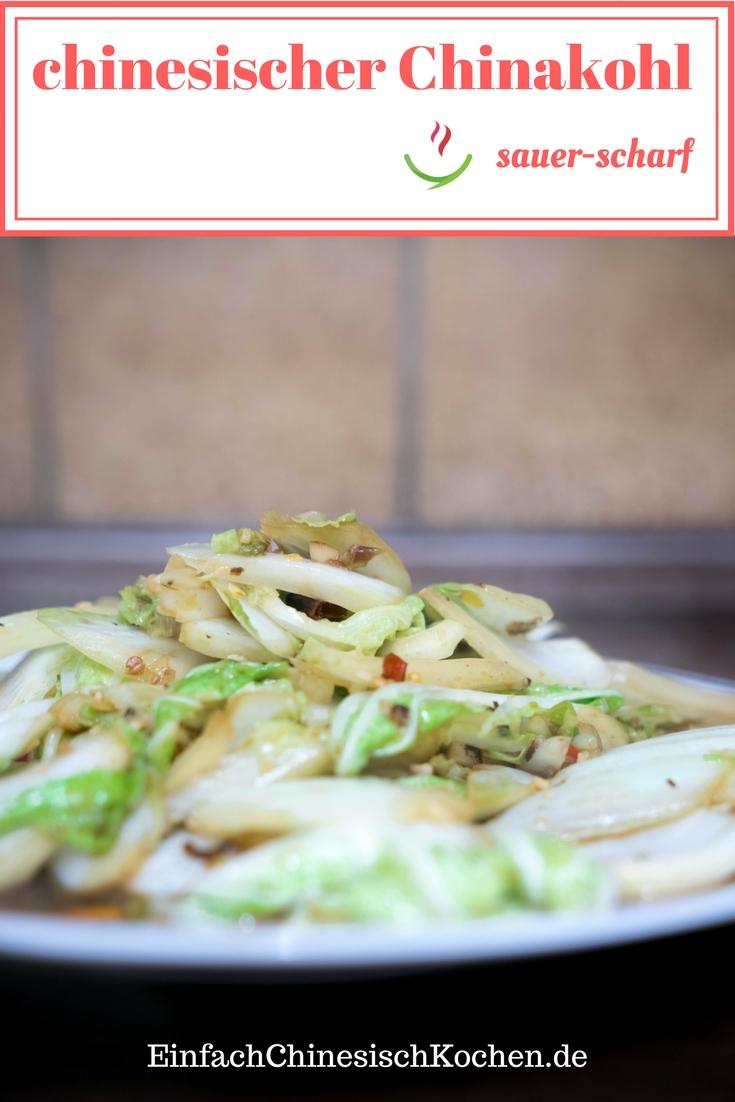 酸辣白菜-Chinakohl sauer-scharf