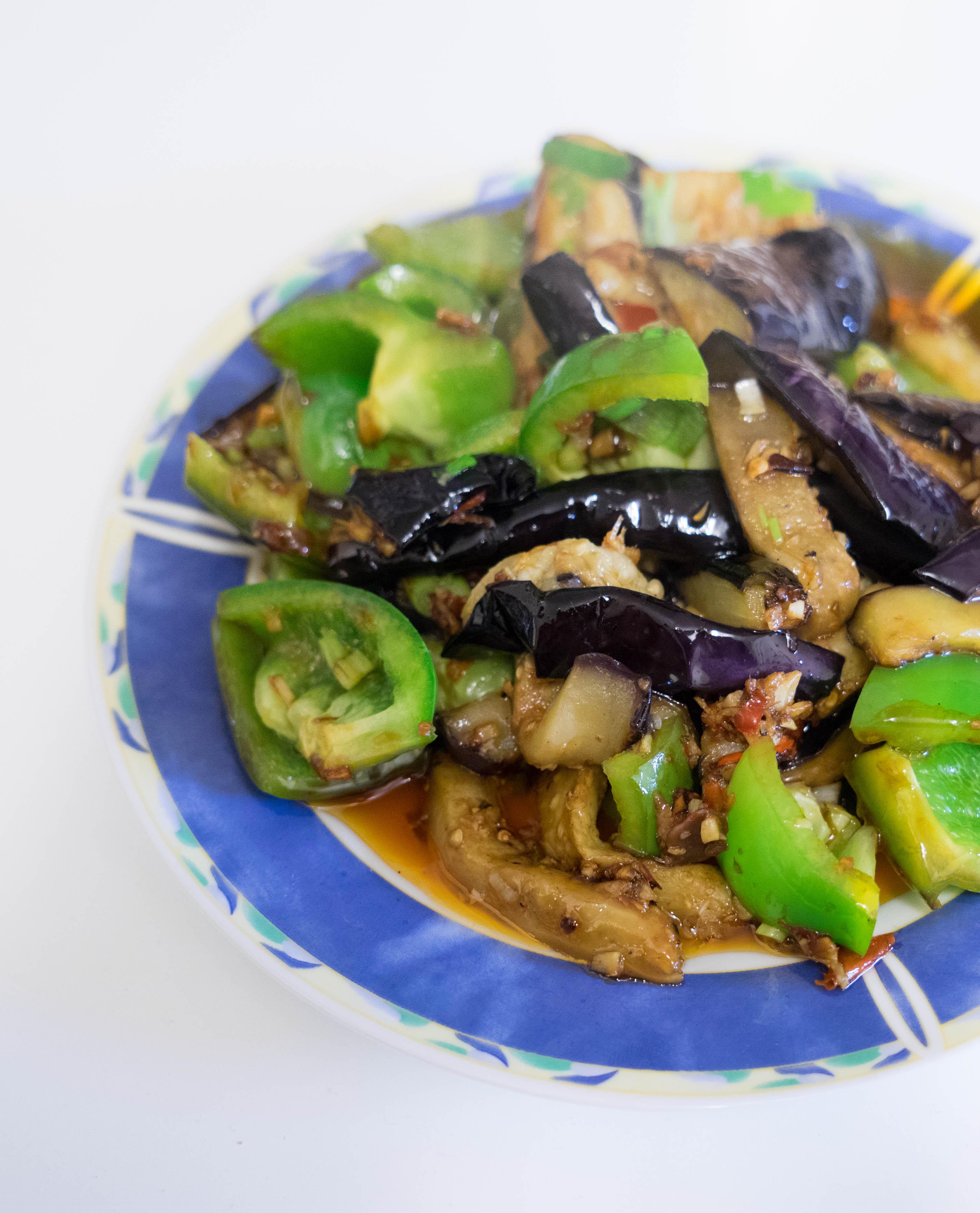 鱼香茄子-Chinesische Aubergine mit Fisch Duft