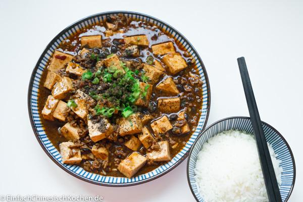 麻婆豆腐 - Mapo Tofu